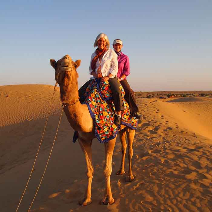 Camel Safari with Desert